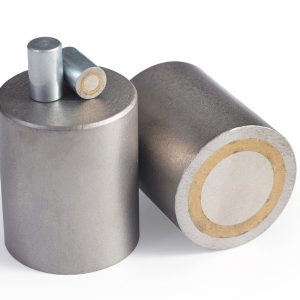Alnico Pot magnets with steel body-0