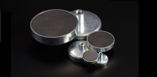 Pot magnets with internal thread-0