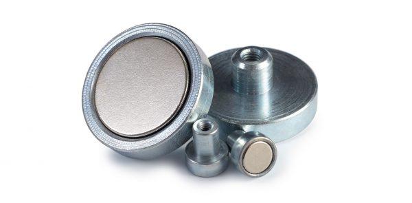 Pots Magnétiques en Néodyme Filetant Intérieur-0