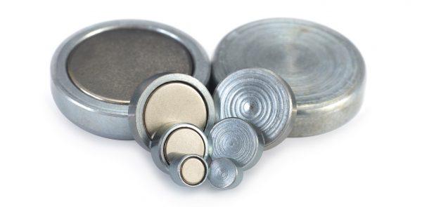 Neodymium pot magnets -0