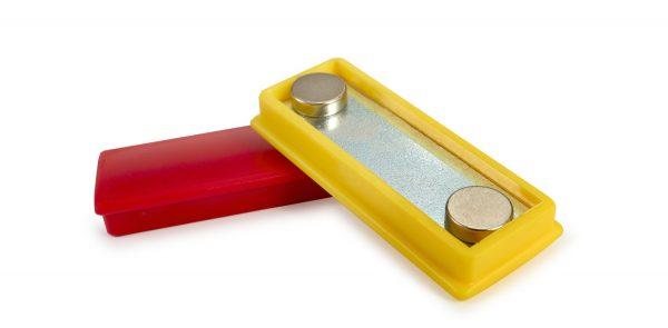 Plastic cap magnets in Neodymium-0