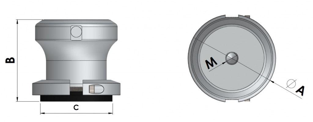 ventosas magnéticas para neumáticos