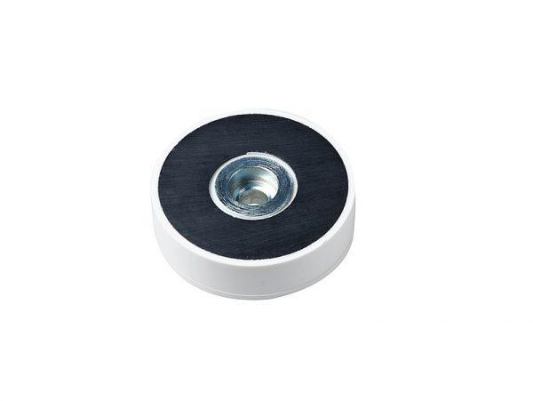 Base magnética de Ferrita recubierta de caucho-0
