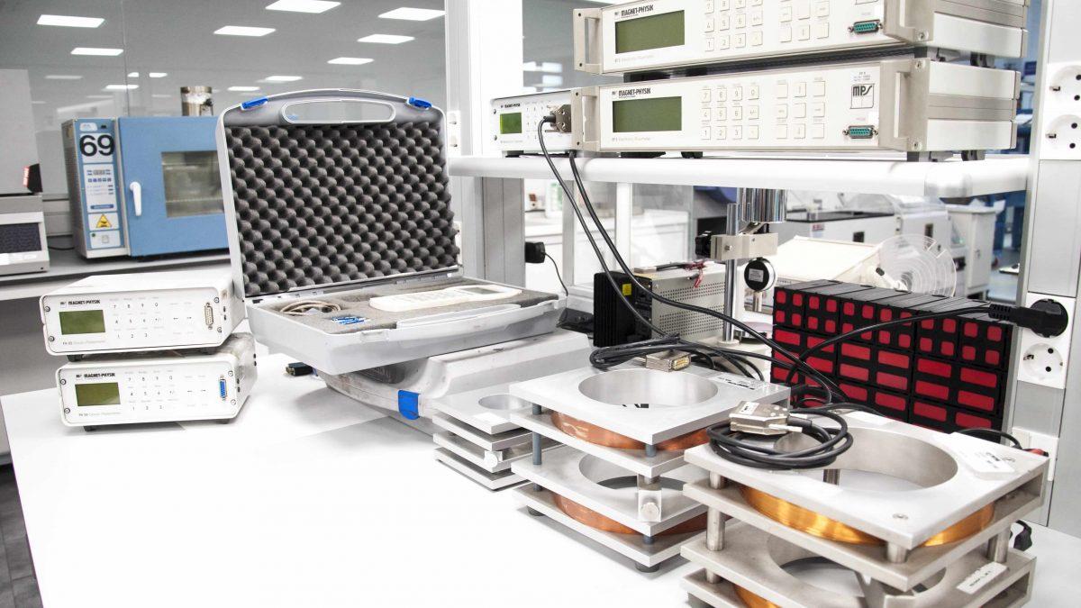 Calibración de los equipos de control