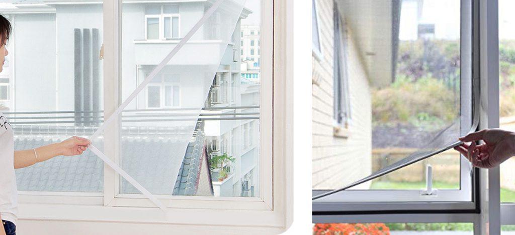 Mosquitera mosquitera mosquitera mosquitera mosquitera con cinta adhesiva mosquitera y mosquitera para ventanas