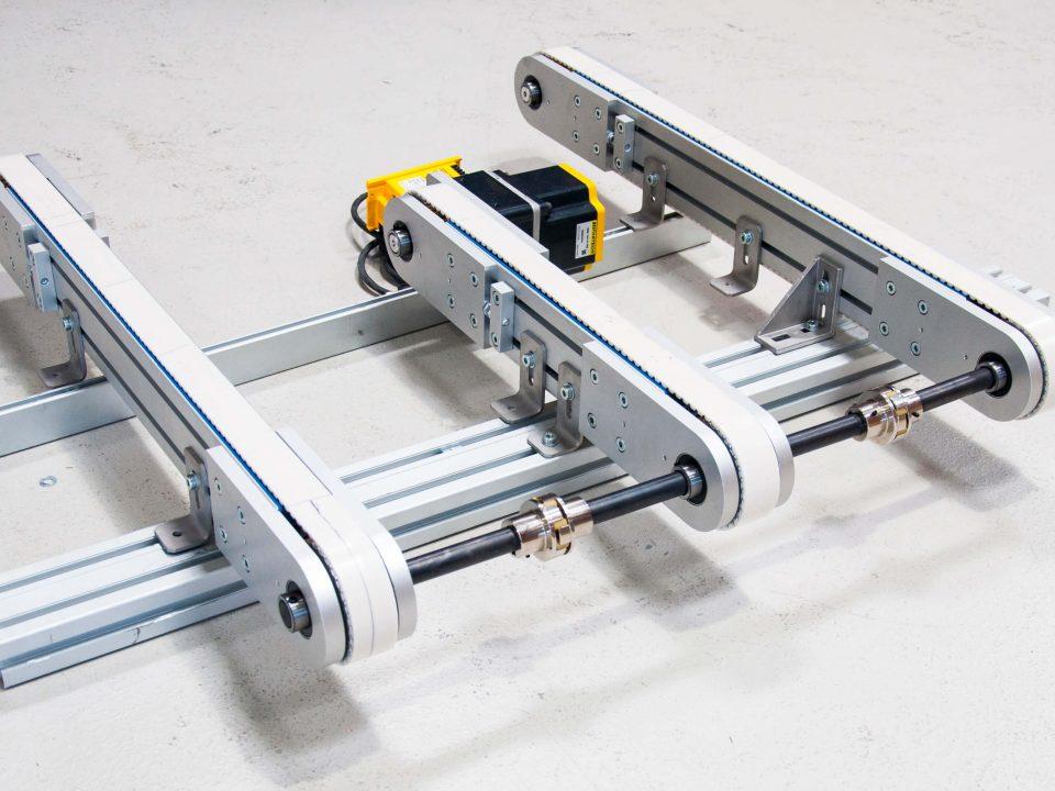 Protección para la cinta transportadora magnética