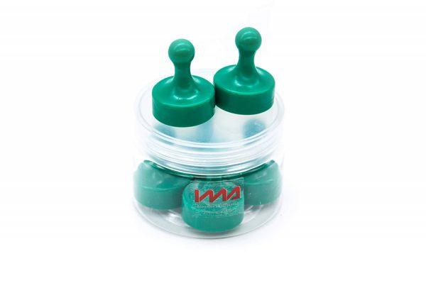 De color verde, fichas y peones magnéticos