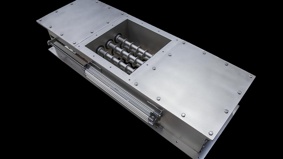 Diferentes separadores magneticos en IMA