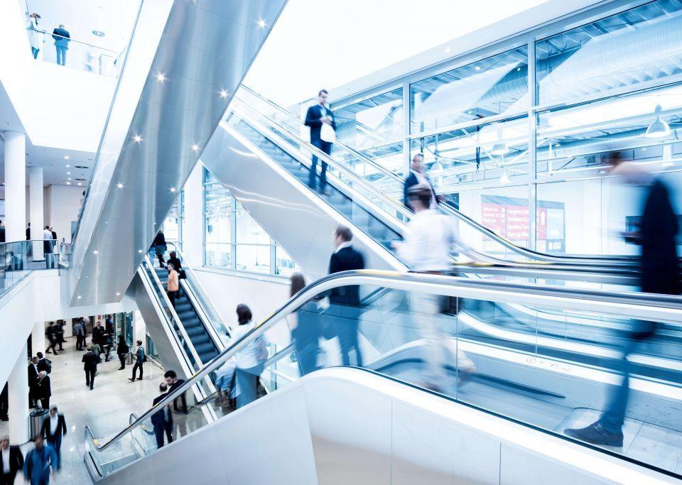 electromagnets in mechanical escalators