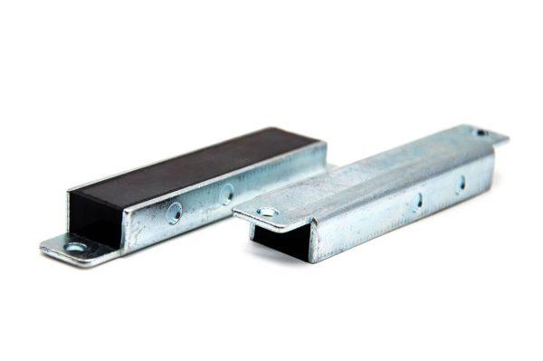 Perfil Magnético de Ferrite com Caixa Metálica