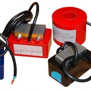 Electroimanes vibradores AC elaborados en IMA